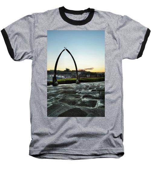 Whitby Whalebone Frost Baseball T-Shirt