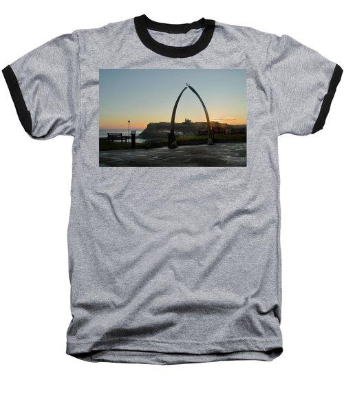 Whitby Whalebone Golden Hour Baseball T-Shirt