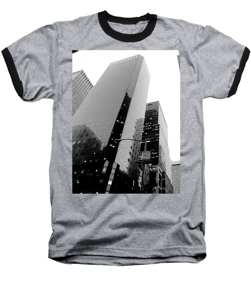 Baseball T-Shirt featuring the photograph White And Black Inspiration  by Inga Kirilova