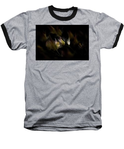 Baseball T-Shirt featuring the photograph White And Yellow by Jay Stockhaus