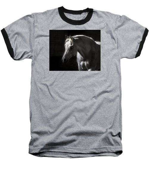 White Beauty Baseball T-Shirt