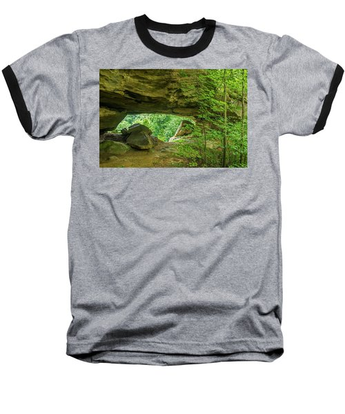 White Branch Arch Baseball T-Shirt