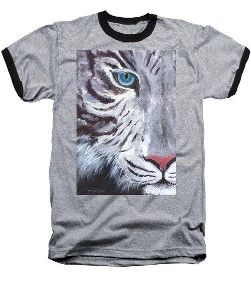 White Cat Baseball T-Shirt