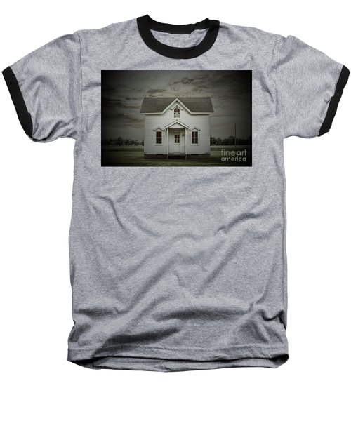 White Clapboard Baseball T-Shirt