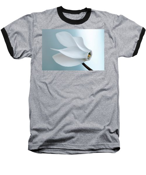 White Cyclamen. Baseball T-Shirt