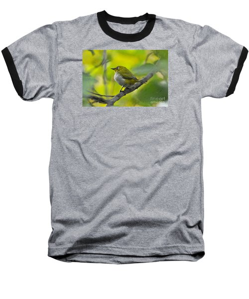 White Eye 1 Baseball T-Shirt