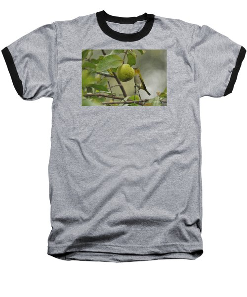 White Eye 2 Baseball T-Shirt