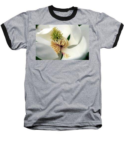 Baseball T-Shirt featuring the photograph Magnolia Blossom by Meta Gatschenberger