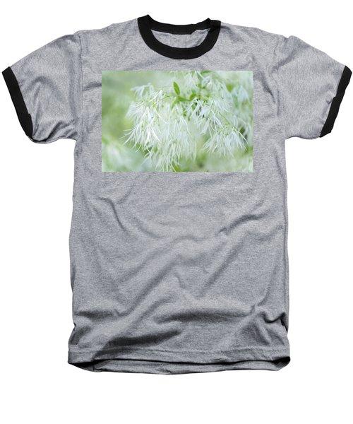 White Fringetree Baseball T-Shirt