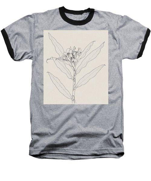 White Ginger Baseball T-Shirt