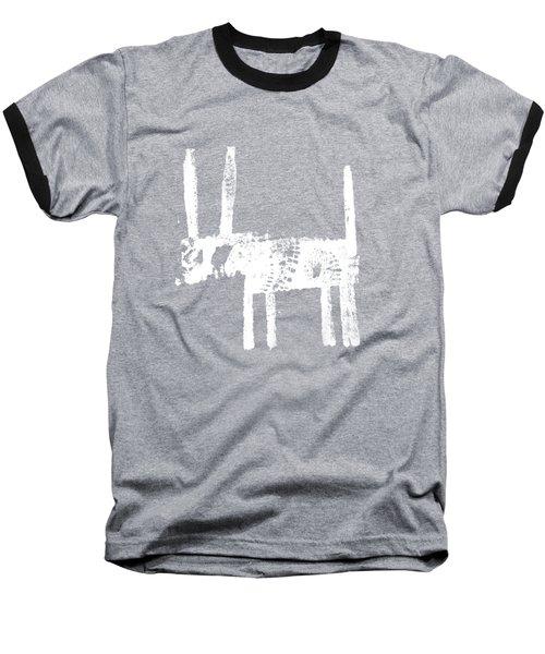 White Baseball T-Shirt
