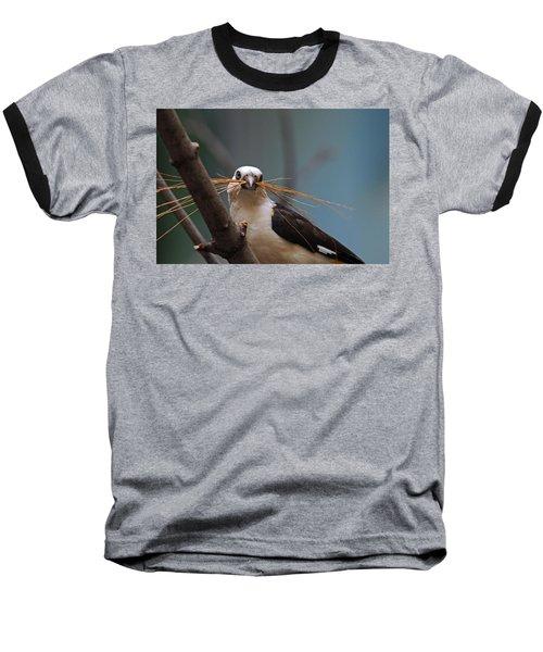 White-headed Buffalo Weaver Baseball T-Shirt