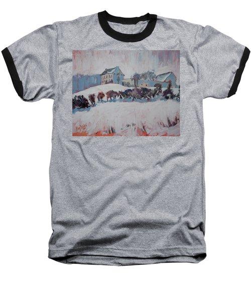 White Hill Zonneberg Maastricht Baseball T-Shirt by Nop Briex
