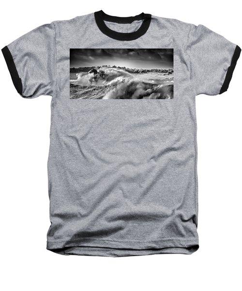 White Horses Baseball T-Shirt