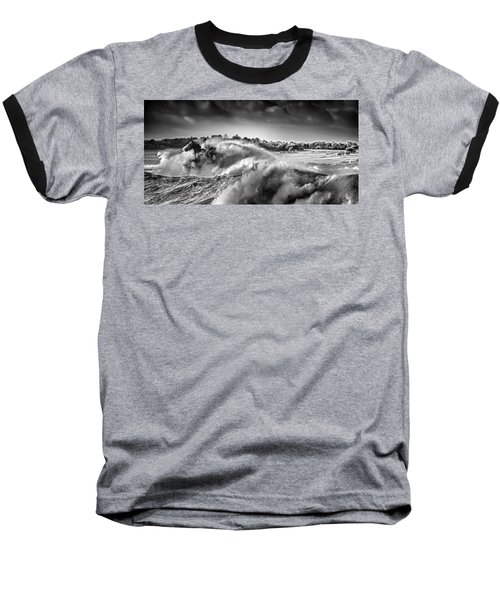 White Horses Baseball T-Shirt