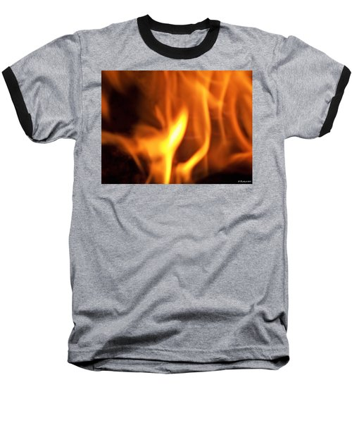Baseball T-Shirt featuring the photograph White Hot by Betty Northcutt