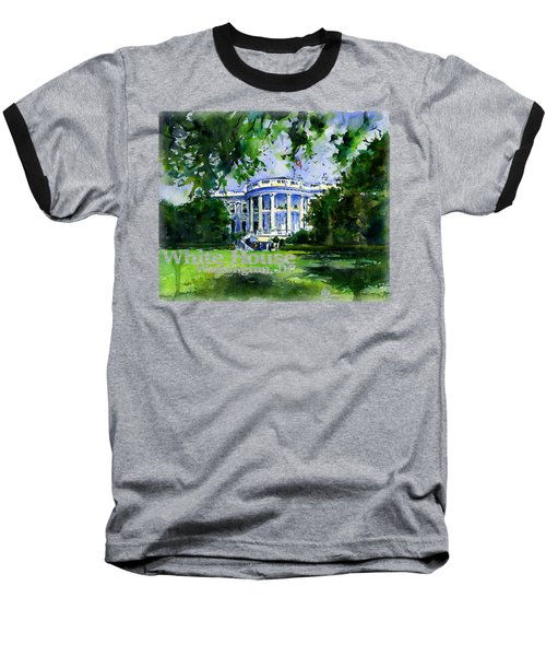 White House Dc Shirt Baseball T-Shirt