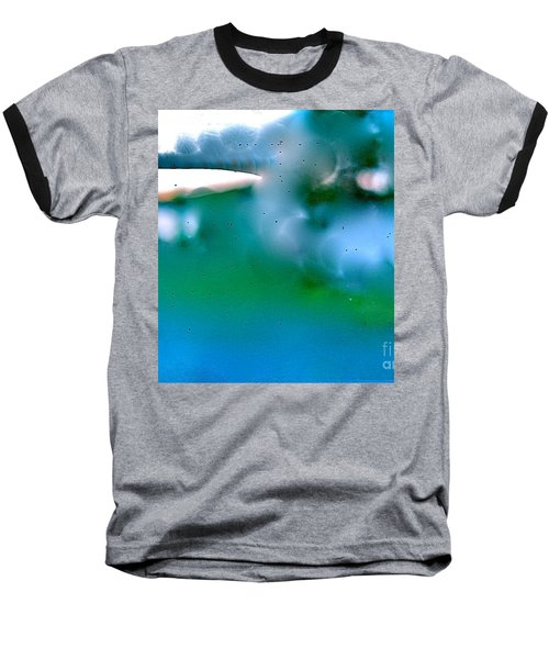 White Ice Baseball T-Shirt