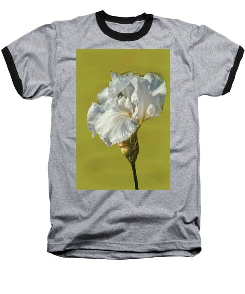 White Iris June 2016 Artistic.  Baseball T-Shirt