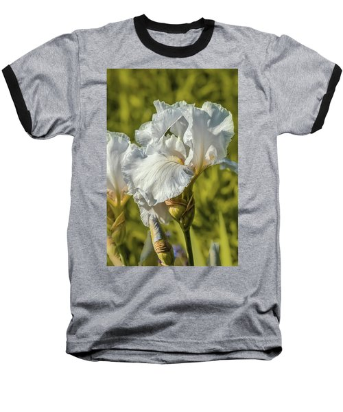 White Iris June 2016.  Baseball T-Shirt