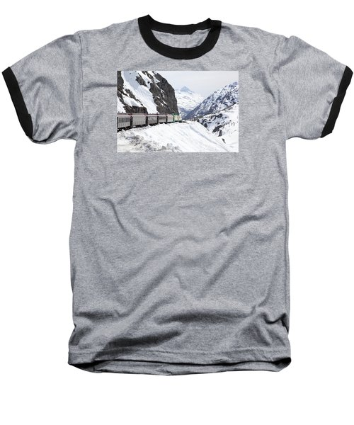 White Journey Baseball T-Shirt