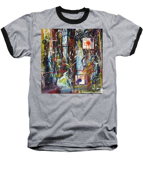 White Lies, Yellow Teeth Baseball T-Shirt