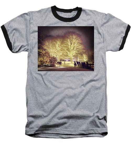 White Light Christmas Baseball T-Shirt