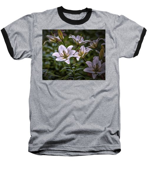 White Lilies #g5 Baseball T-Shirt