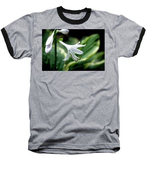 White Lily 1 Baseball T-Shirt