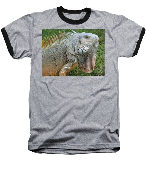 White Lizard Baseball T-Shirt