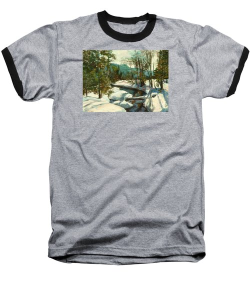 White Mountain Winter Creek Baseball T-Shirt