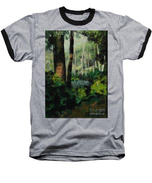 White Mountain Woods Baseball T-Shirt