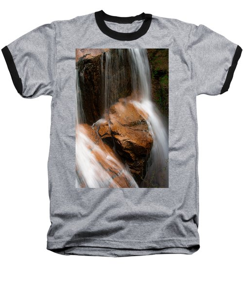 Baseball T-Shirt featuring the photograph White Mountains Waterfall by Jason Moynihan