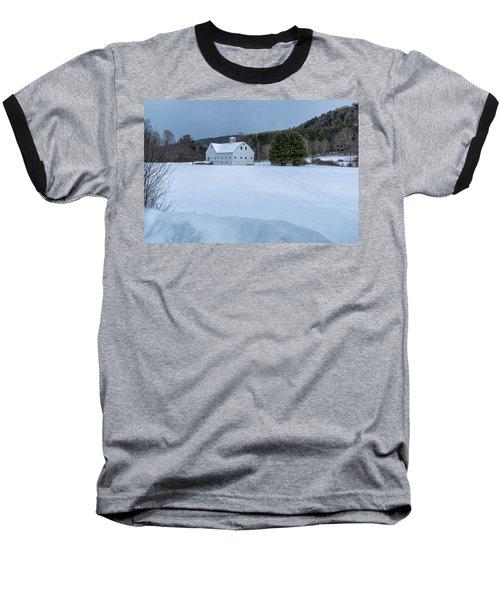 White On White Baseball T-Shirt