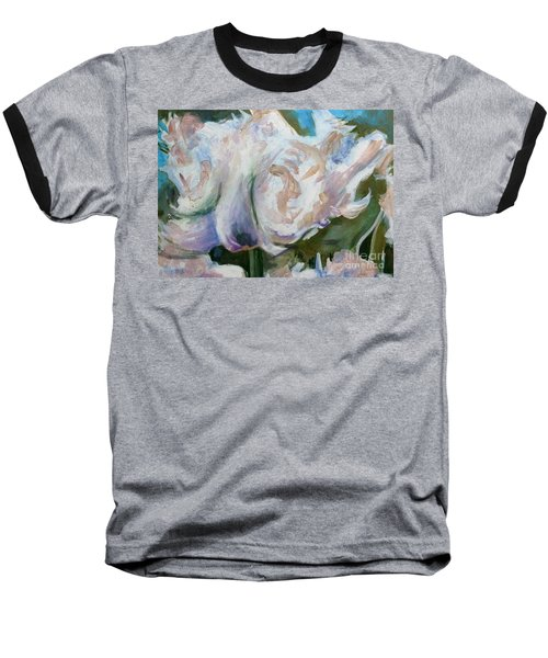 White Parrot Baseball T-Shirt
