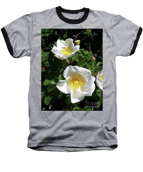 White Perfection Baseball T-Shirt