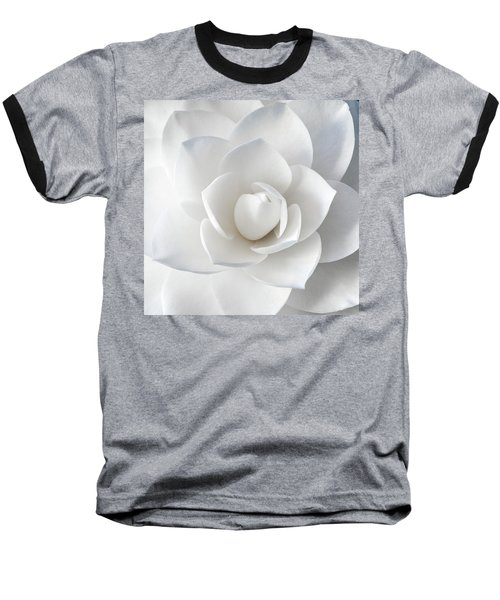 White Petals Baseball T-Shirt