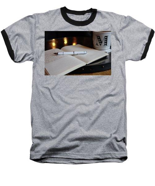 Baseball T-Shirt featuring the photograph White Pilot Prera by Monte Stevens