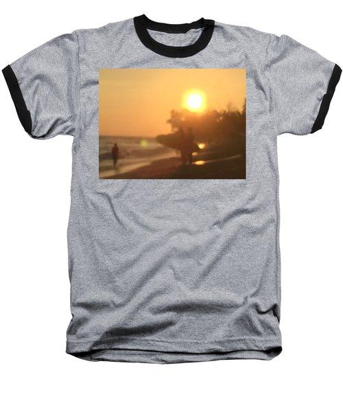 White Plains Beach Baseball T-Shirt