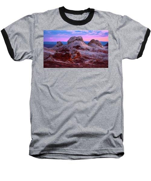 White Pocket Baseball T-Shirt by Bjorn Burton