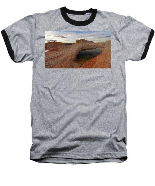 Baseball T-Shirt featuring the photograph White Pocket Reflecton by Jonathan Davison