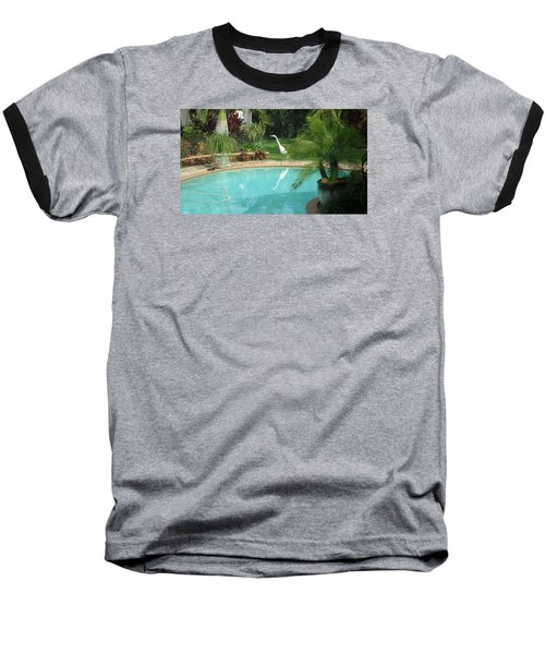 White Reflection Baseball T-Shirt