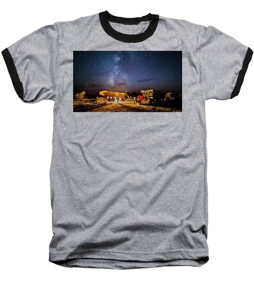 White Rim Camp Baseball T-Shirt