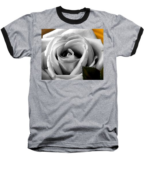 White Rose 2 Baseball T-Shirt