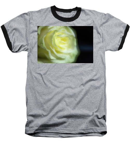 White Rose 4 Soft Baseball T-Shirt