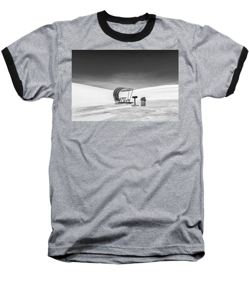 White Sands National Monument #8 Baseball T-Shirt