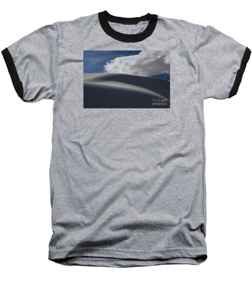 White Sands National Monument Baseball T-Shirt by Keith Kapple