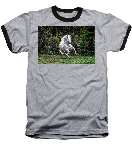 White Stallion Baseball T-Shirt