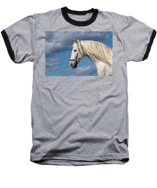 White Stallion Baseball T-Shirt