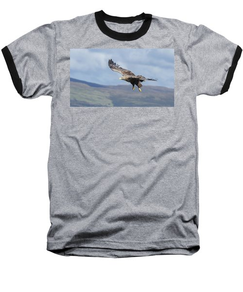 White-tailed Eagle On Mull Baseball T-Shirt